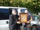 Встреча святынь из Грузии, и икон, облаченных в киот. 30.08.2011
